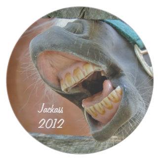 Laughing Jackass Plate