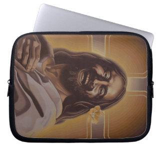 Laughing Jesus Lap Top Sleeve Laptop Sleeves