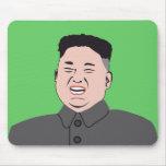 Laughing Kim Jong-un Mouse Pad