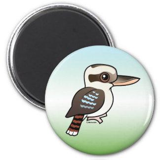 Laughing Kookaburra 2 Inch Round Magnet