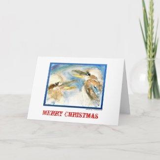 Laughing Kookaburra Christmas Card