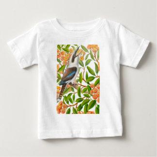 Laughing Kookaburra in Gum Tree Infant Shirt