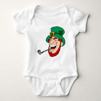 Laughing Leprechaun Baby Bodysuit
