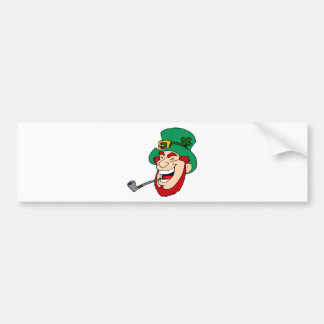 Laughing Leprechaun Bumper Sticker