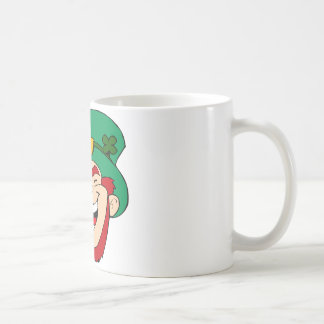 Laughing leprechaun coffee mug