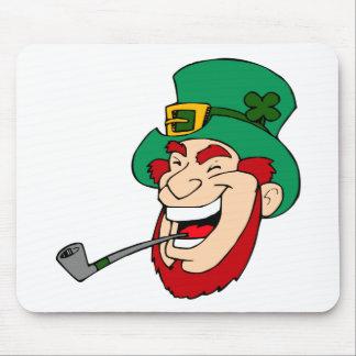 Laughing Leprechaun Mouse Pad