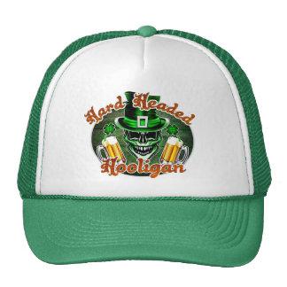 Laughing Leprechaun Skull: Hard Headed Hooligan 2 Trucker Hat