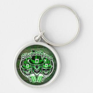 Laughing Leprechauns: Shenanigans 3 Keychain