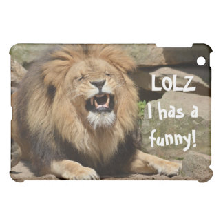 Laughing Lion iPad Mini Case