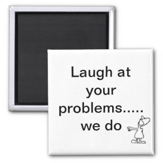 laughing magnet