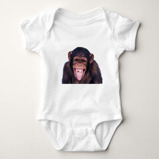 Laughing Monkey Baby Bodysuit