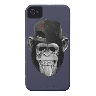 Laughing Monkey iPhone 4 Case-Mate Case