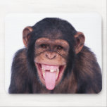 Laughing Monkey Mouse Pad