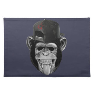Laughing Monkey Placemat
