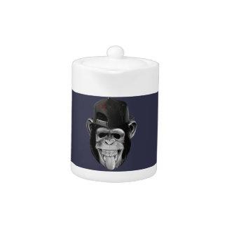 Laughing Monkey Teapot