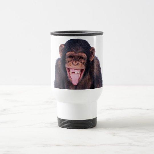 Laughing Monkey Travel Mug