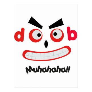 Laughing Monster Postcard