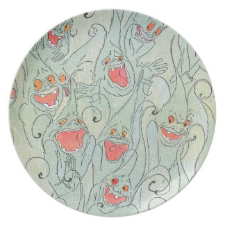 Laughing Nomes of Oz Melamine Plate