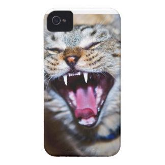 Laughing or Screaming Cat iPhone 4 Cover