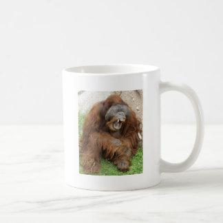 Laughing Orangutan Coffee Mugs