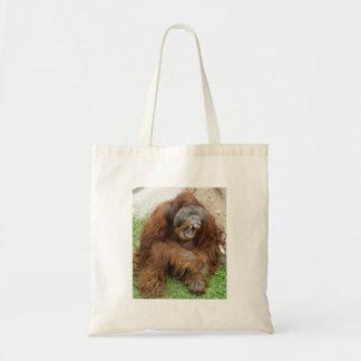 Laughing Orangutan Tote Bag