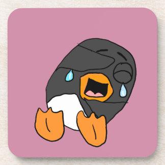 Laughing Penguin Cartoon Coaster