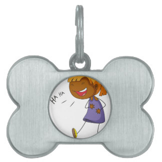 Laughing Pet Tags