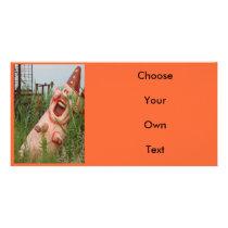 Laughing Pig Card