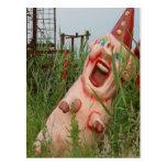 Laughing Pig Postcard