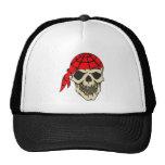 Laughing Pirate Skull Hat