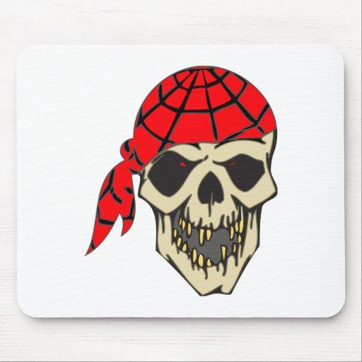 Laughing Pirate Skull Mousepad