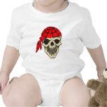 Laughing Pirate Skull T Shirt