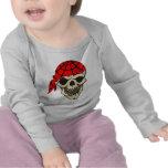 Laughing Pirate Skull Tees