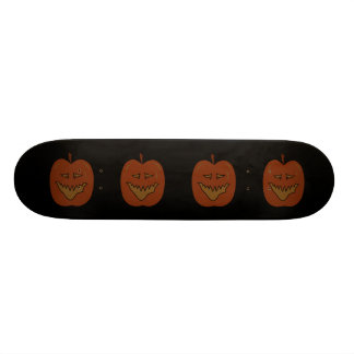Laughing Pumpkin Cartoon. Dark Colors. Skate Board Decks