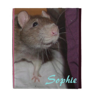 laughing rat 'sophie' Caseable iPad Folio Case
