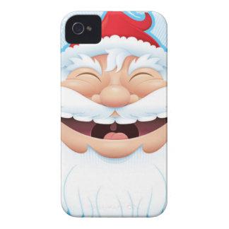 LAUGHING SANTA iPhone 4 COVERS