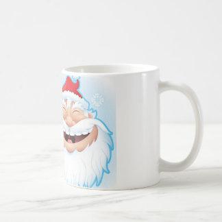 LAUGHING SANTA COFFEE MUG