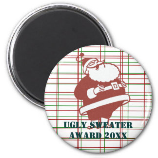 Laughing Santa Magnet