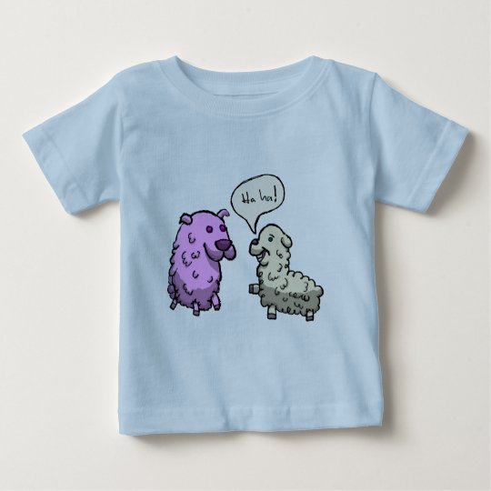 Laughing Sheep Baby T-Shirt