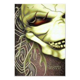 Laughing Skull RSVP Card