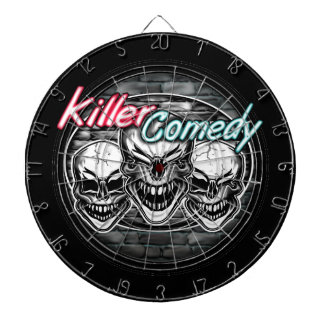 Laughing Skulls: Killer Comedy Dartboard