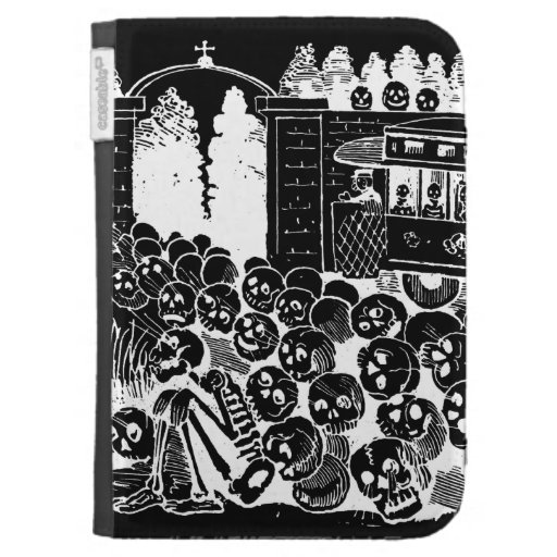 Laughing Skulls Kindle Cases