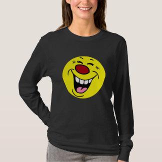 Laughing Smiley Face Grumpey T-Shirt