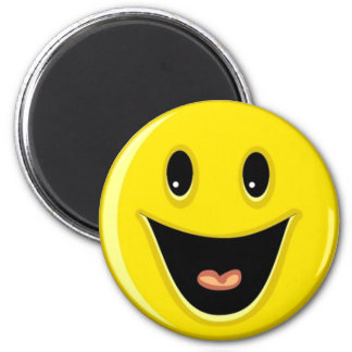 Laughing Smiley Face Magnet