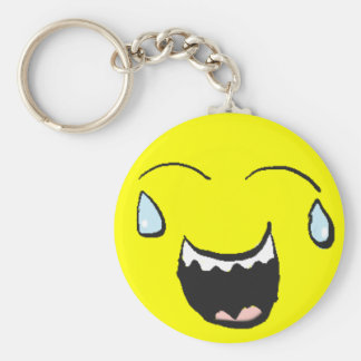 Laughing Smiley Key Chain