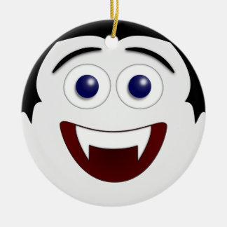 Laughing Smiley Vampire Ornament