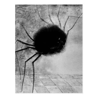 Laughing spider by Bertrand-Jean Redon Postcard
