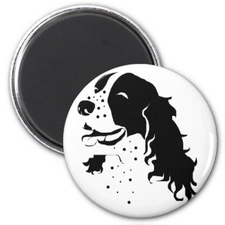 Laughing Springer Spaniel Magnet