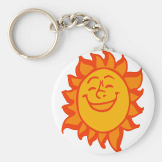 laughing-sun keychain