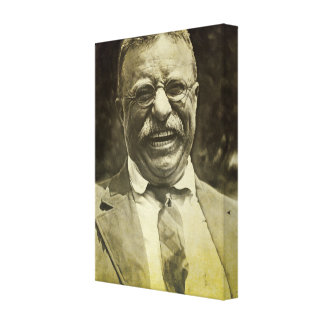 Laughing Theodore Roosevelt Canvas Print